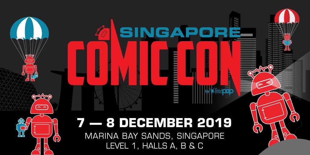 Singapore Comic Con December 7 8 2019 Scc2019