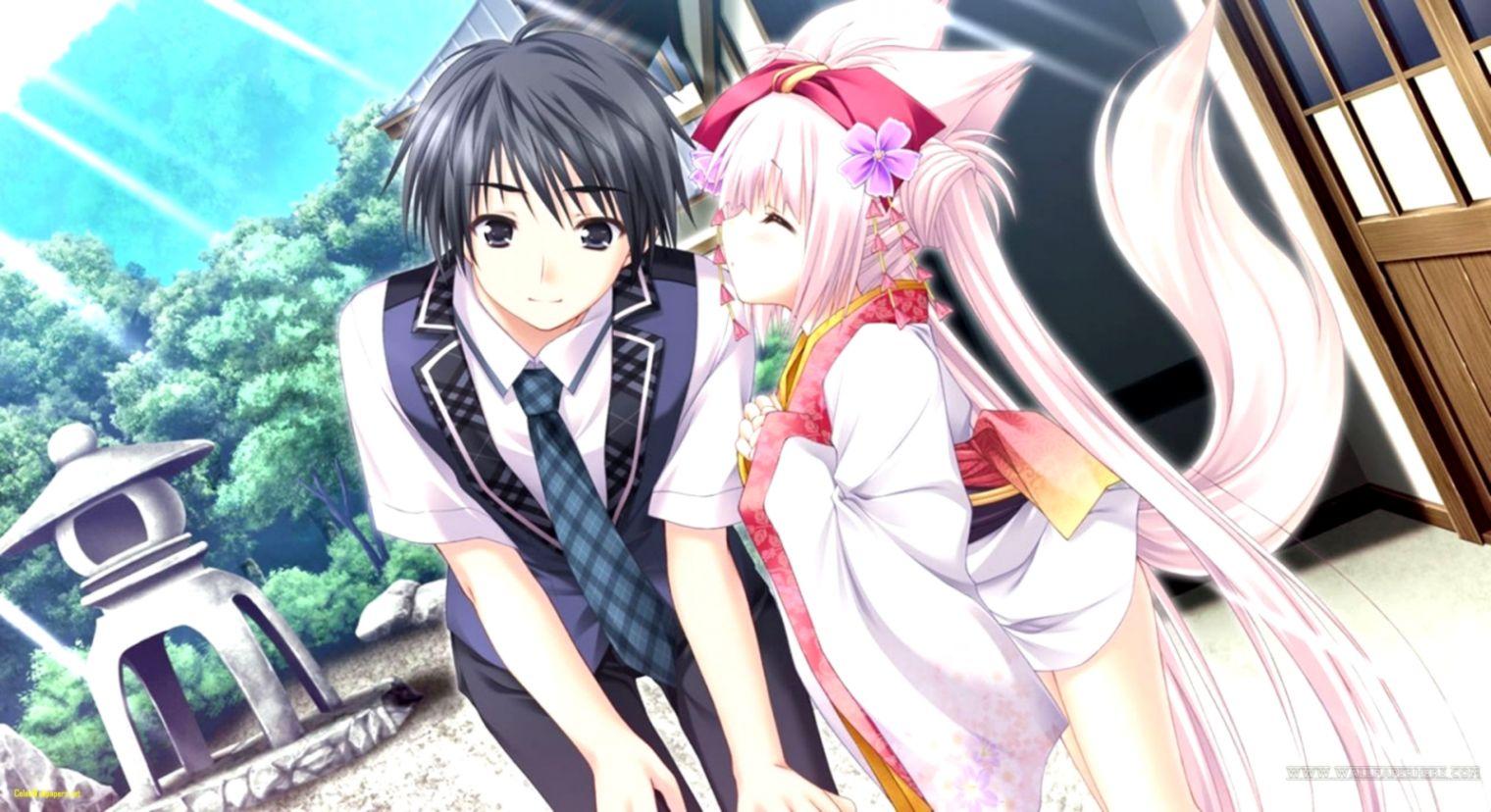 Cute Anime Couple Wallpaper Hd Wallpapers Jobs