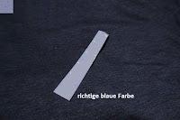 richtige blaue Farbe: Lands' End - Baumwoll/Viskose-Shirt mit V-Ausschnitt