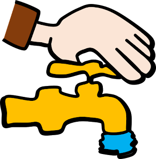 Closing Tap Clipart