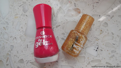 lakiery Essence i Golden Rose