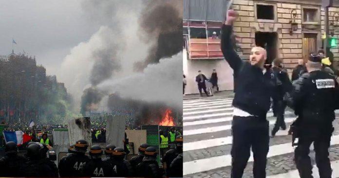 Γάλλοι αστυνομικοί αρνήθηκαν τις εντολές κατά του γαλλικού λαού (Βίντεο)