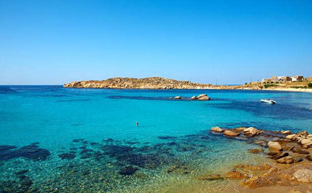 Praia Paraga, Mykonos