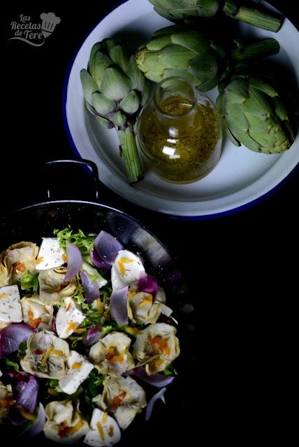 Ensalada-de-alcachofas-y-queso-mozzarella-04