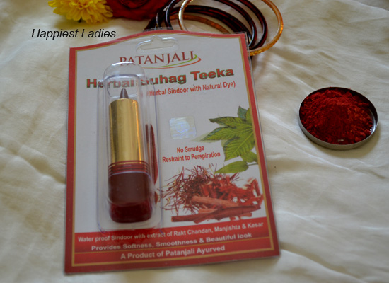 Patanjali Herbal Suhag Teeka / Herbal Sindoor