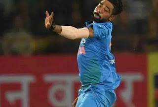 मोहम्मद सिराज भारतीय तेज गेंदबाज