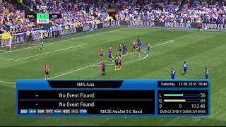 Channel Feed IMG Asia di Asiasat 5 yg sedang FTA