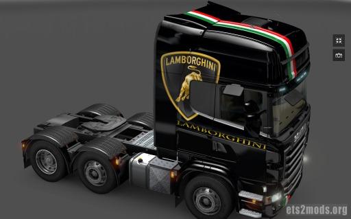 Scania Lamborghini Skin