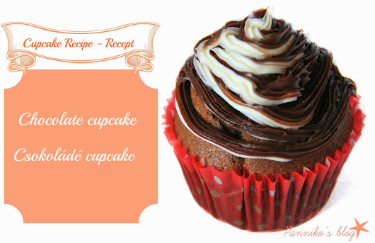 Chocolate Cupcake Recipe - Csokoládé Cupcake Recept