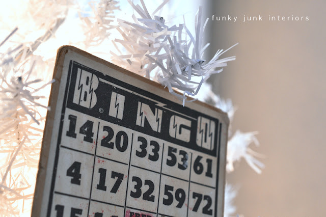 bing card tree ornament