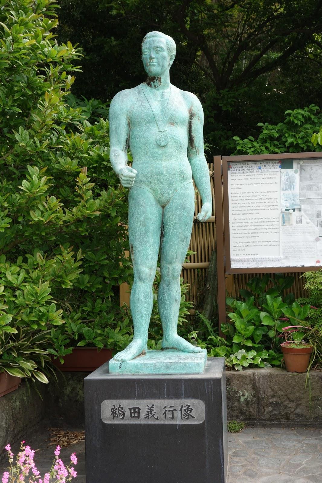 いびき博士の散歩道 in Kagoshima: 銅像(1):鶴田義行の像