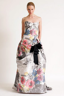 Vestidos para fiestas floreados