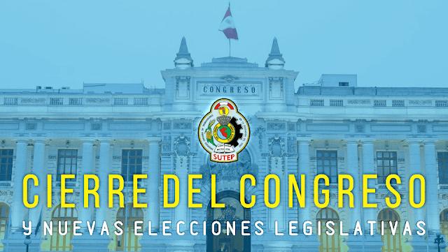 CIERRE DEL CONGRESO Y NUEVAS ELECCIONES LEGISLATIVAS