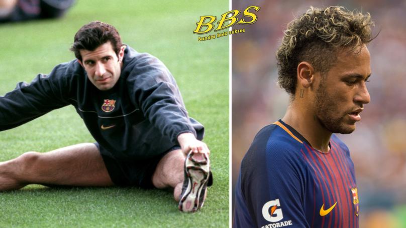 Luis Figo and Neymar