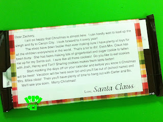 Personalized Christmas Santa Letter