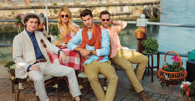 Scullers Presents Chinos for India