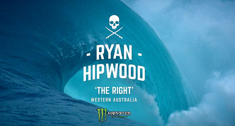 Ryan Hipwood  'The Right' | Wie man eine Monsterwelle bezwingt