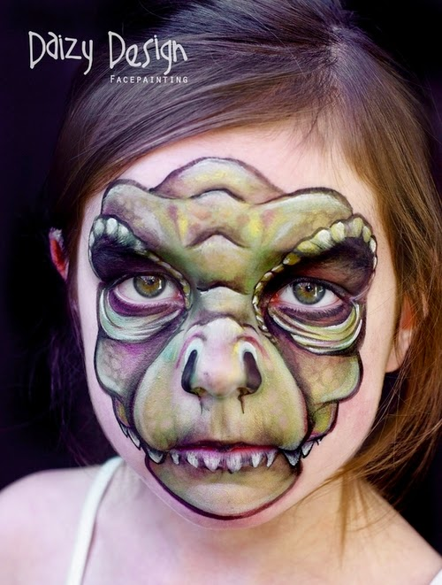 15-Christy Lewis Daizy-Face Painting - Alternate Personalities-www-designstack-co
