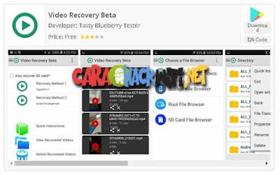 Video Recovery Beta