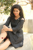 Telugu Actress Pavani Latest Pos in Black Short Dress at Smile Pictures Production No 1 Movie Opening  0110.JPG
