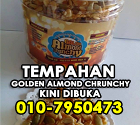 GOLDEN ALMOND CRUNCHY