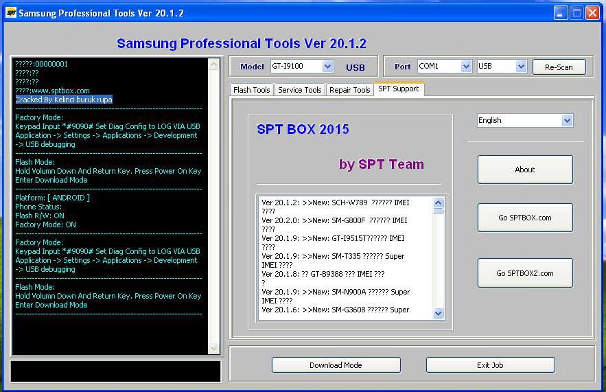 spt box setup 16.3.7