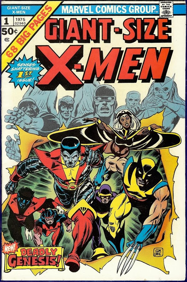 X-Men Giant Size nº 1