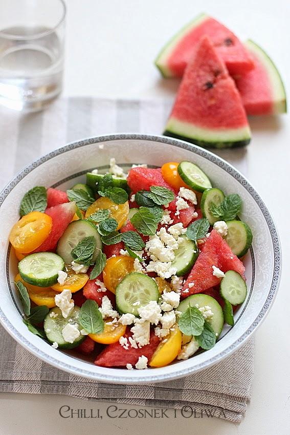 salatka na upaly arbuz i feta