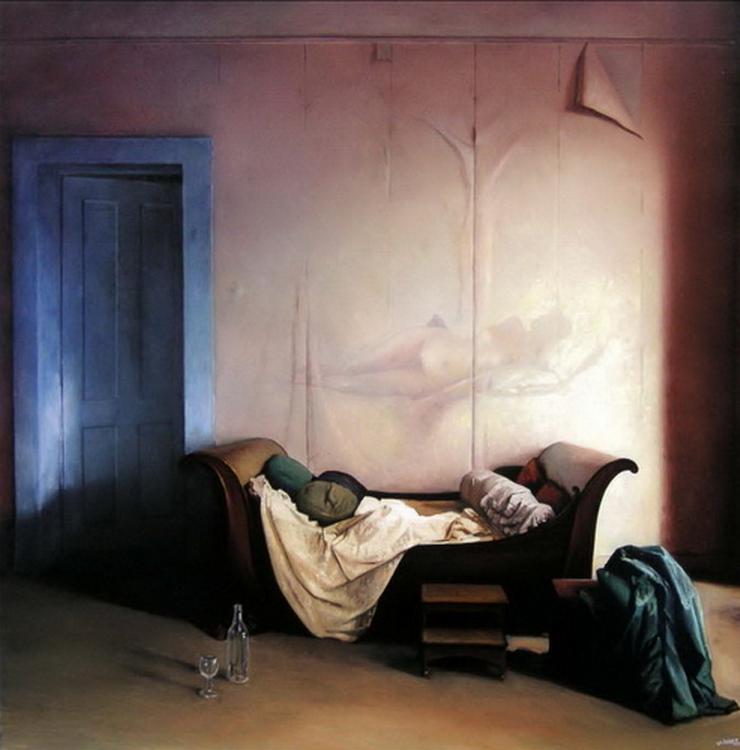Cuadros pinturas oleos pinturas de interiores casas - Cuadros de interiores ...
