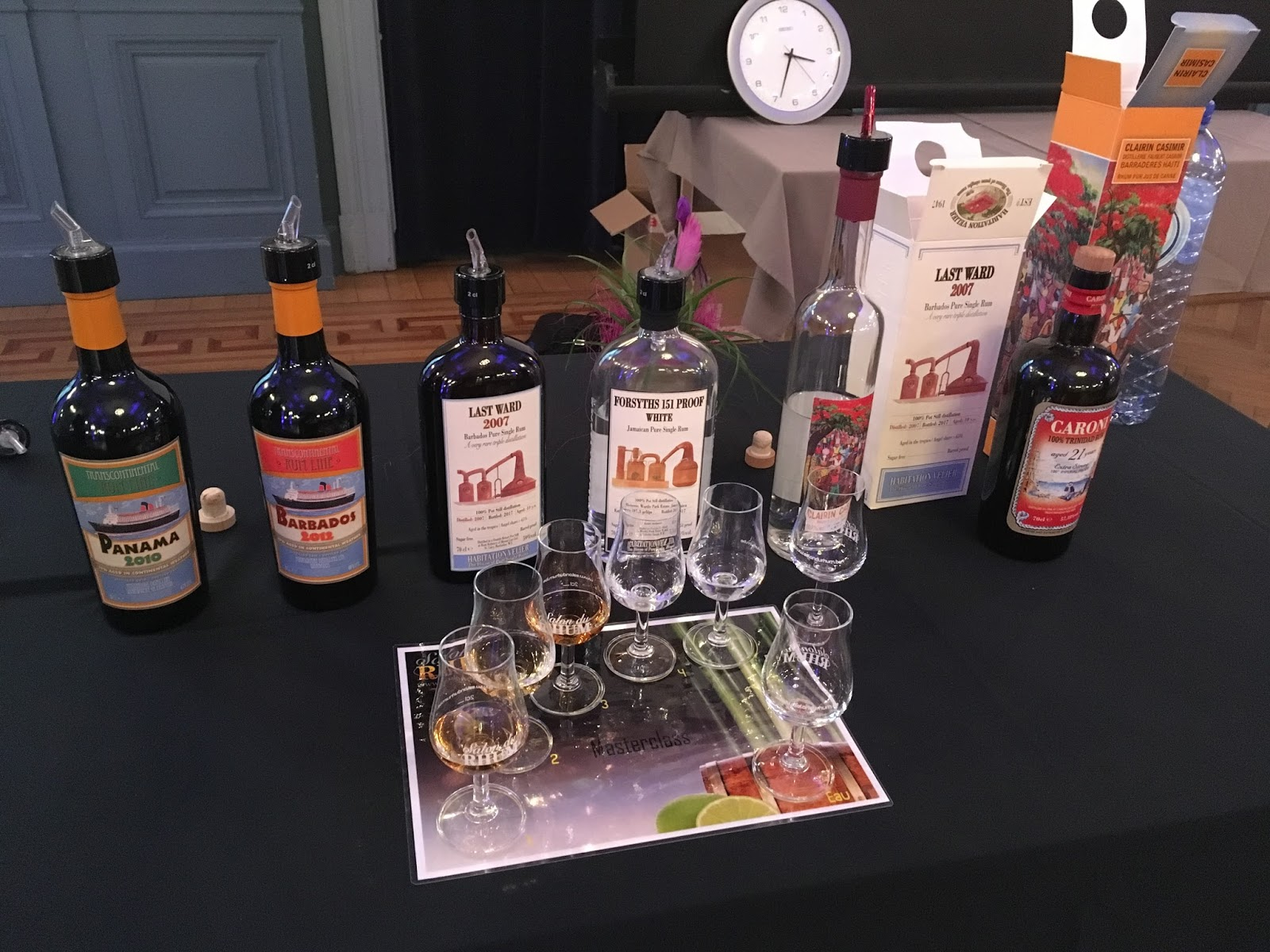Rhum n 39 whisky salon du rhum 2017 journ e d tente et for Salon du rhum