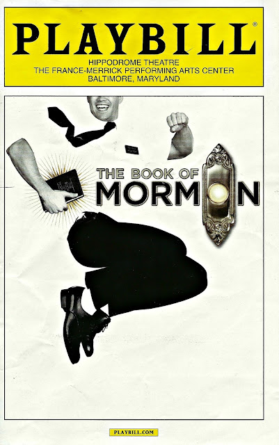 The Book of Mormon national tour Playbill Baltimore