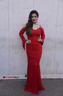 Bollywood Actress Raveena Tandon Stills in Red Dress on the sets of Sabse Bada Kalakar 2017  0006.jpg