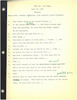 First page of the Reel 5 transcript for the Las Vegas Superman meeting