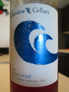 Wine review of 2012 Lakeview Cellars Syrah Rosé