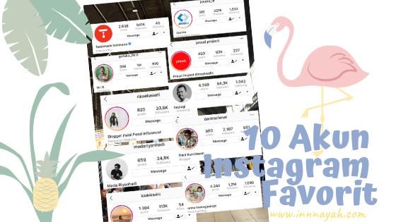 10 Akun Instagram Inspiratif 2018