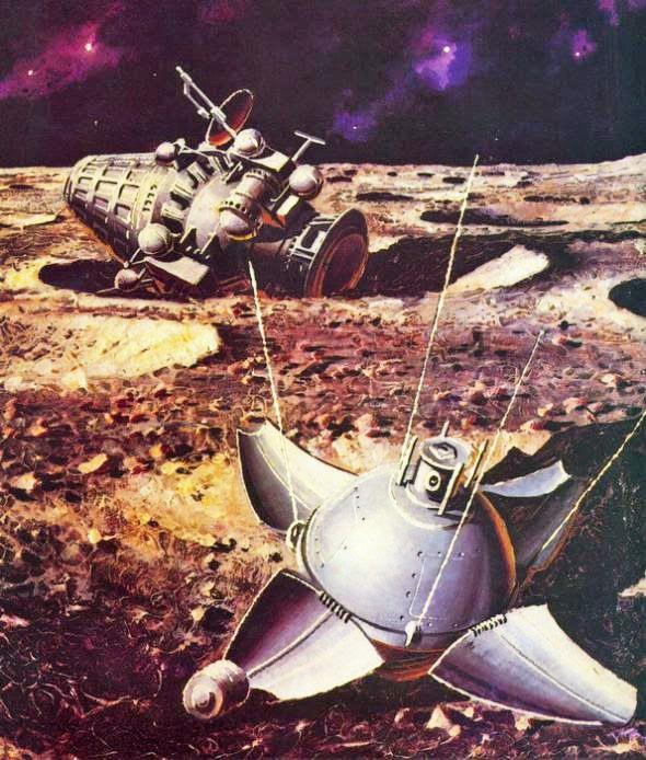 SPACE RELICS: 3 février 1966 - La sonde Luna 9 devient la ...