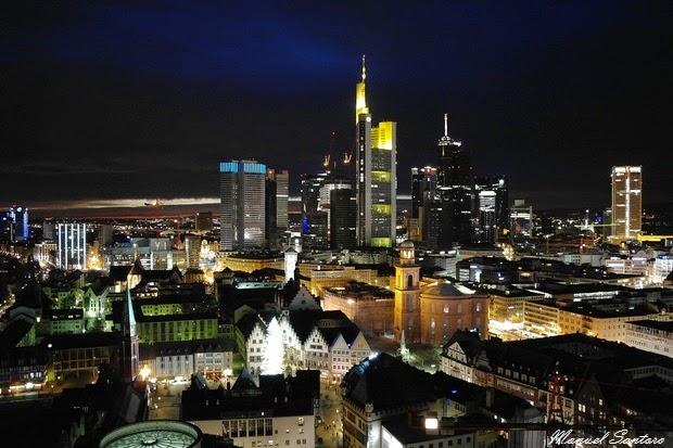 Francoforte, vista dalla Nikolaikirche