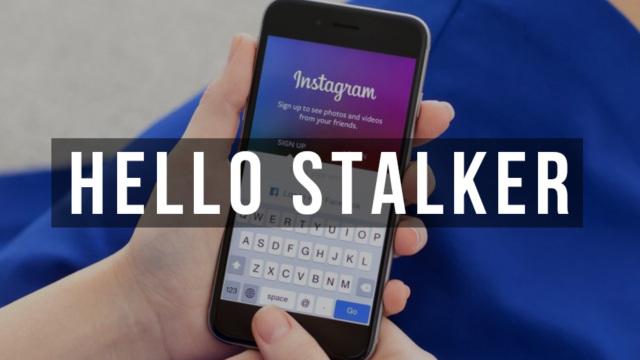 stalking ig