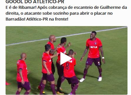 Assistir Vitória x Atlético-PR AO VIVO 19/10/2017 - Brasileirão