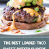 The Best Loaded Taco Sweet Potato Sliders