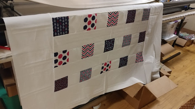 Charity quilt for foster teen