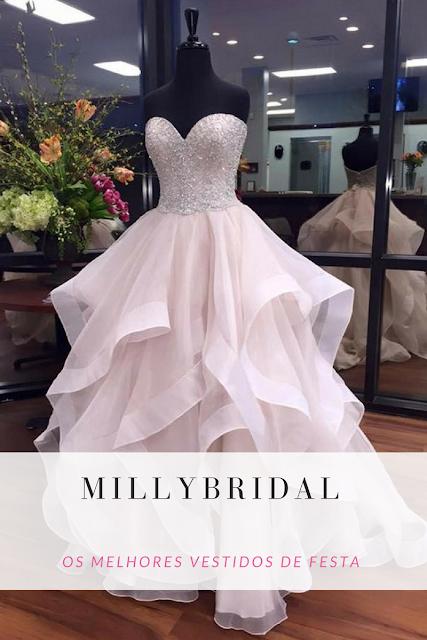 Os Melhores Vestidos de Festas com a MillyBridal