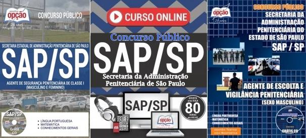 Apostilas concurso SAP Agente de Segurança Penitenciária 2018
