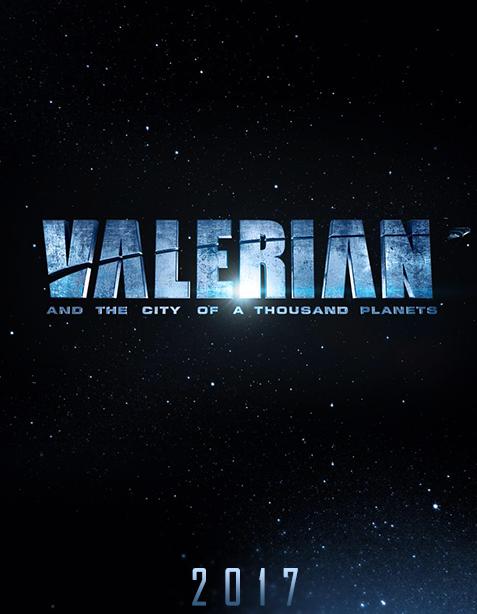 Concept pentru filmul sci-fi VALERIAN regizat de Luc Besson