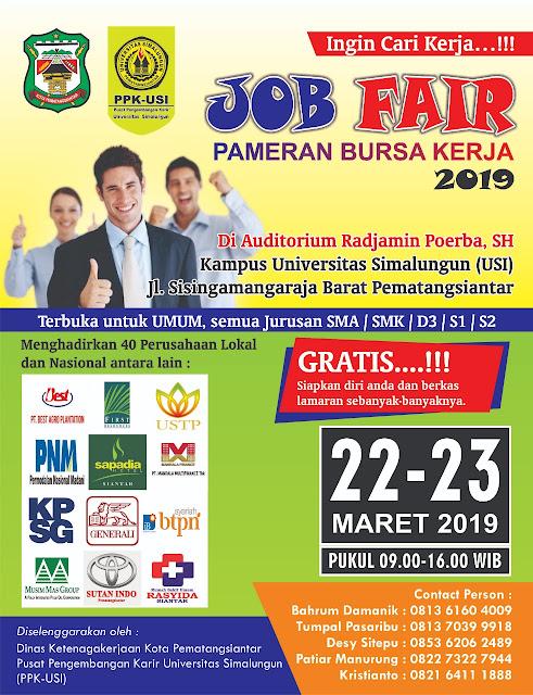 Job Fair  / Bursa Kerja Pematangsiantar