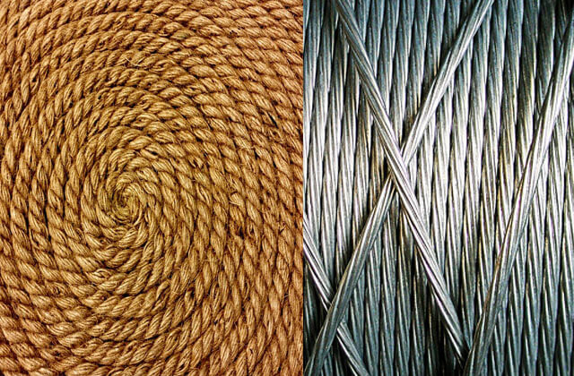 Fiber ropr-Wire rope images