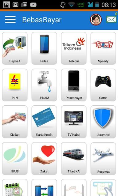 menu utama bebas bayar mobile