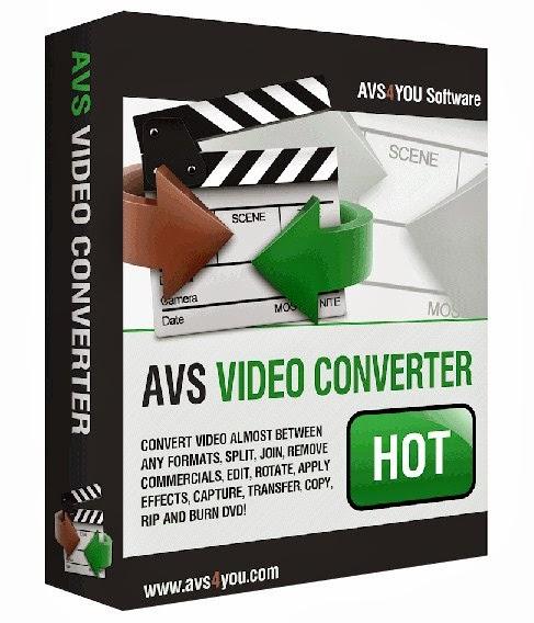 AVS Video Converter 9.1.1.568 + Crack
