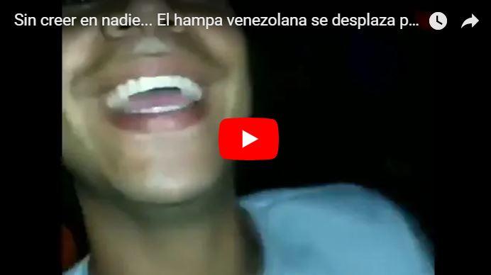 Así grabaron un tour por las calles de Caracas durante la noche