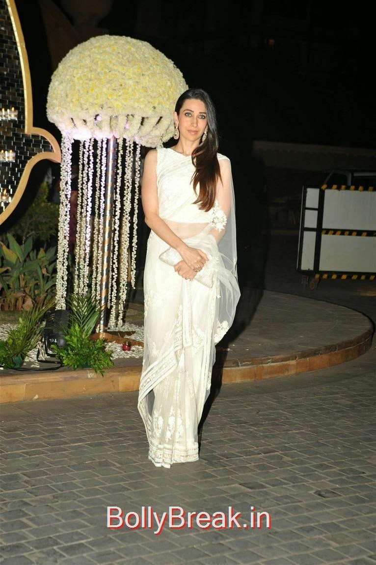 Karan Johar, Karishma Kapoor, Urmila Matondkar, Kriti Sanon, Sophie Choudry At Riddhi Malhotra Wedding Reception